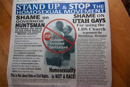 Gay history movement right