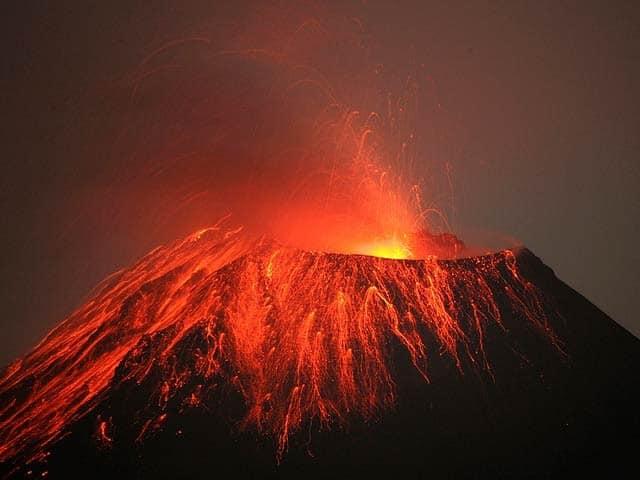 عکس های آتشفشان