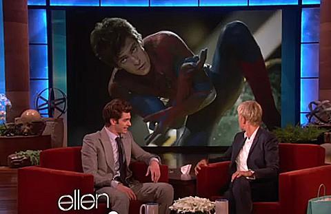 Garfield nude under Spider-Man suit - BelfastTelegraph.co.uk