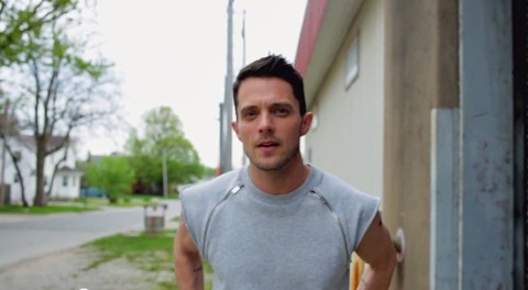 The out singer Eli Lieb won hearts with his gay