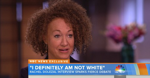 Rachel Dolezal on NBC Nightly News