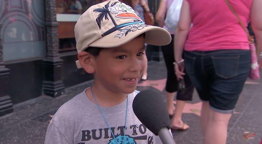 Jimmy Kimmel kids
