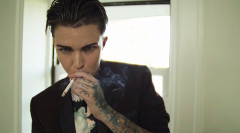 Out Lesbian Actress And Model Ruby Rose Seen Most Recently On Orange Is The New Black Has Released A Short Film Break Free About Gender Roles