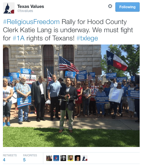 Same-sex marriage fight in Texas