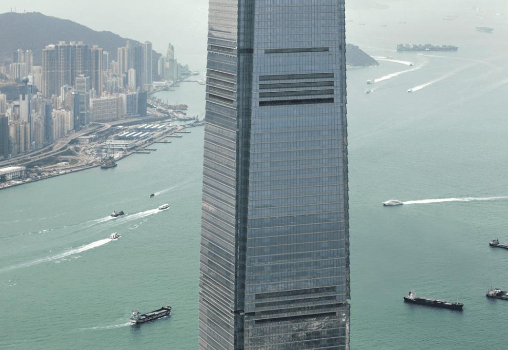 The Ritz-Carlton, Hong Kong gay honeymoon hotel, in ManAboutWorld gay travel magazine and Towleroad