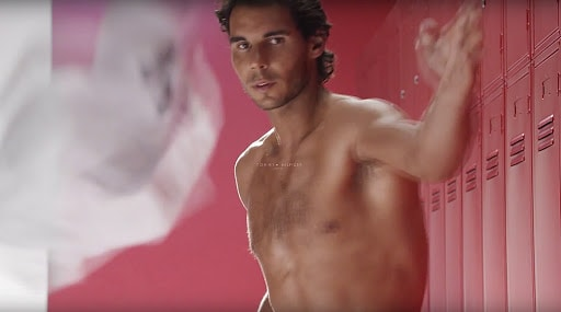 Rafael Nadal Strips Down And Gets Cheeky In New Underwear