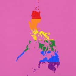 Map of the gay friendly Philippines