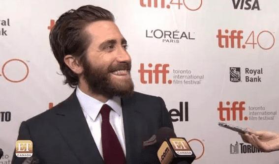 "Jake Gyllenhaal at the premiere of ""Demolition"" in Toronto"