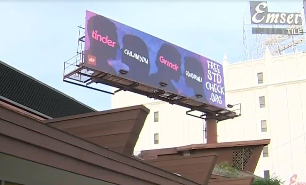 AHF billboards