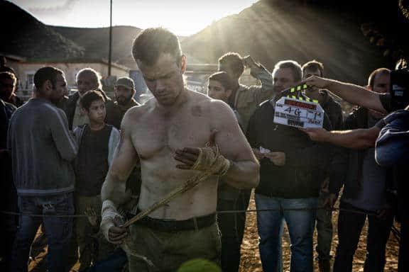 Matt Damon shirtless