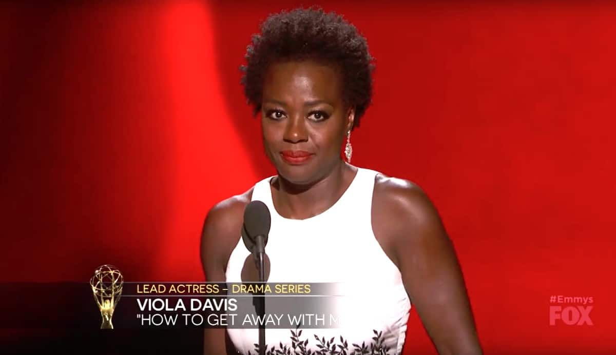 Viola Davis 2015 Emmy Awards