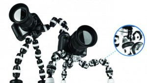 GorillaPod flexible camera tripod, from ManAboutWorld gay travel magazine and Towleroad
