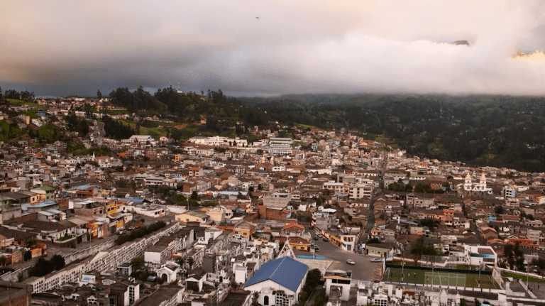 The city of Guaranda, Ecuador, the capital of the mountainous Bolivar Province. Jimmy Chalk/GlobalPost