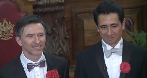 Peter McGraith and David Cabrera uk same-sex couples