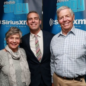 Andy Cohen and his parents coming out