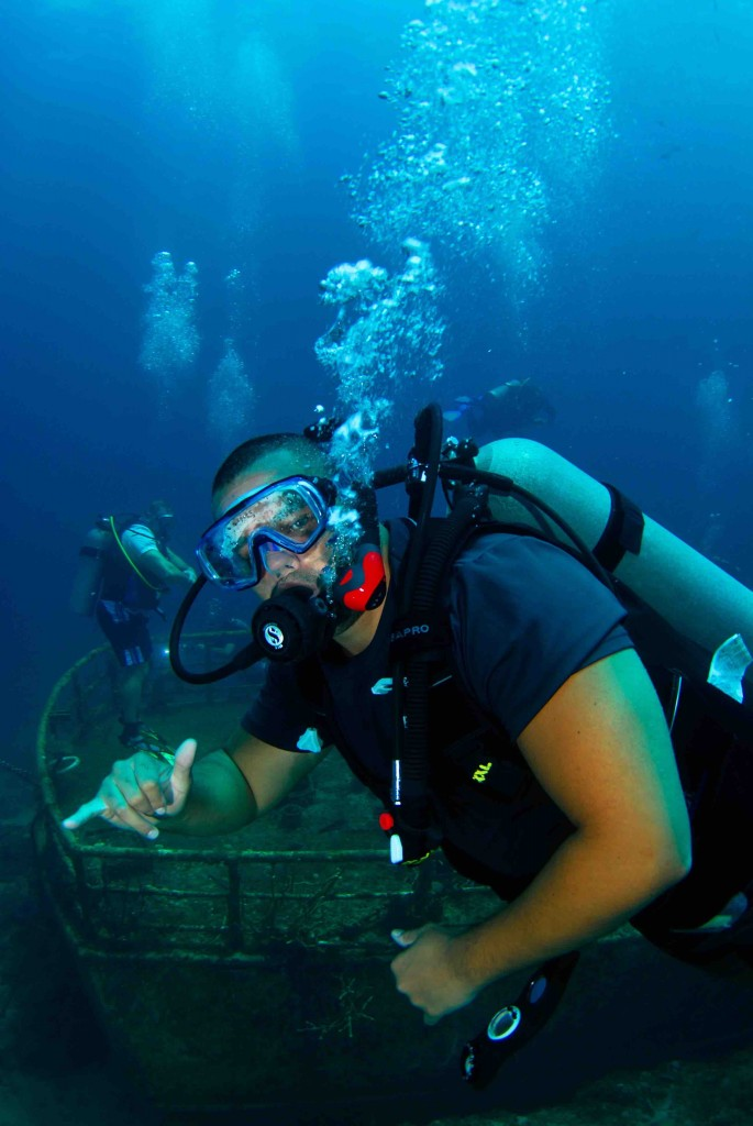 Small group gay tour for divers and their friends in ManAboutWorld gay travel magazine and Towleroad