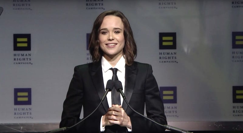 Ellen Page HRC