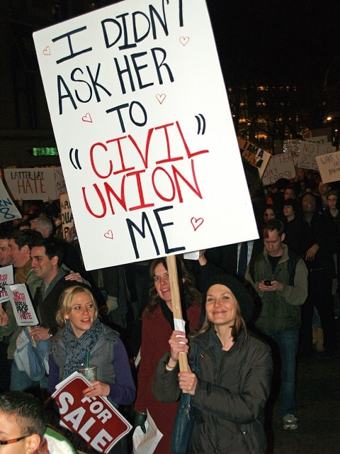 """According to statistics compiled by legal group Collyer Bristol, lesbians are twice as likely as gay men to end civil unions. The research shows that while 5.4 percent of male partnerships formed between 2005 and 2014 ended, 9.7 percent of female civil partnerships were dissolved. According to FT.com, Collyer Bristow partner Philippa Dolan offered the relative youth of some female partners as a possible explanation. Dolan said: """"Some traditional gender expectations persist even in civil partnerships, with women seemingly keener to get married at an earlier age than men. That may have played a role in their higher dissolution rate. """"Divorce rates among heterosexual couples are highest among couples in their 20s, so there is a definite correlation between marrying young and splitting up shortly afterward. These figures suggest that applies in same-sex civil partnerships too."""" Stockholm University's Gunnar Andersson said the finding accords with other countries that formally recognise gay relationships: He said: """"Women are both more prone to forming a union as well as to dissolving a union. Women have higher demands on relationship quality. This is one of the reasons why divorce has increased more generally."""" Gay rights group Stonewall suggested that more qualitative research is required before any conclusions can be made."""