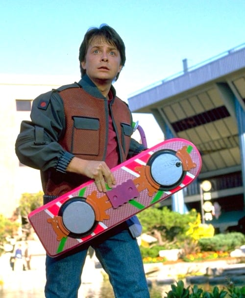 Marty McFly Back to the Future day