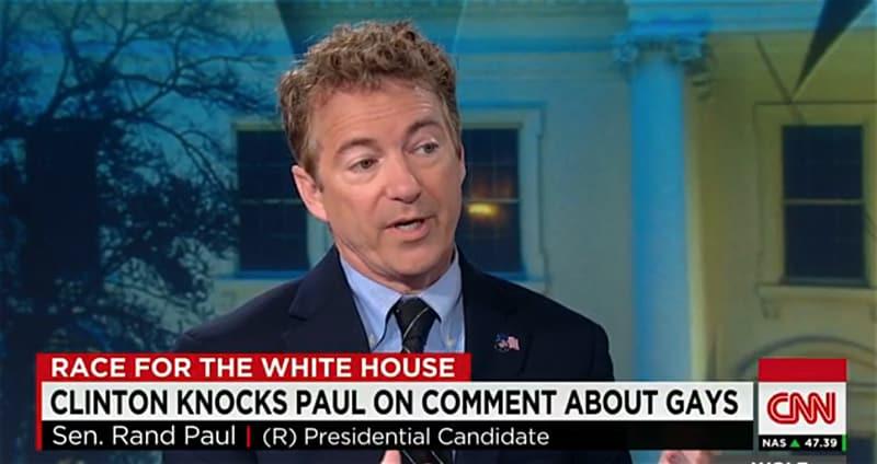 Rand Paul gay