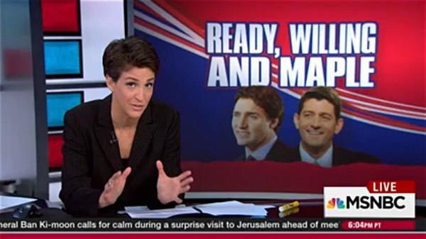 Rachel Maddow Paul Ryan