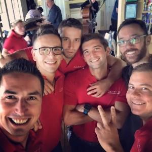 The Red Inn crew.