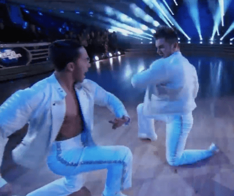 from Karter dancing with the stars gay dancer