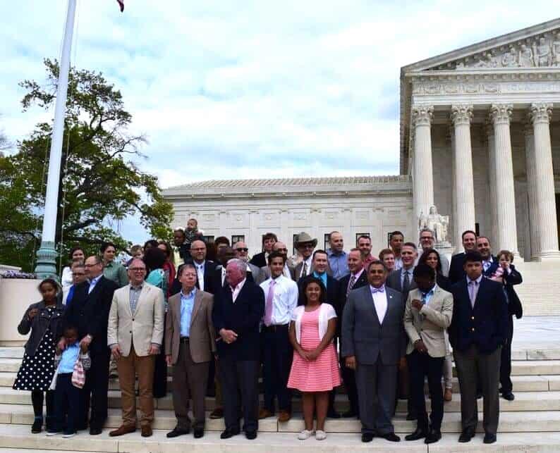 SCOTUS plaintiffs boycott of mormon tabernacle