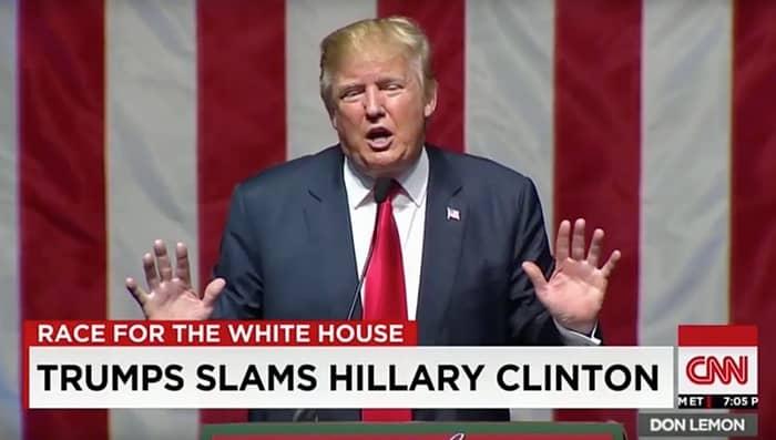 Donald Trump schlonged