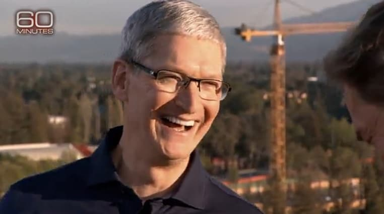Tim Cook Anderson Cooper