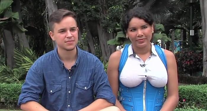 Transgender couple