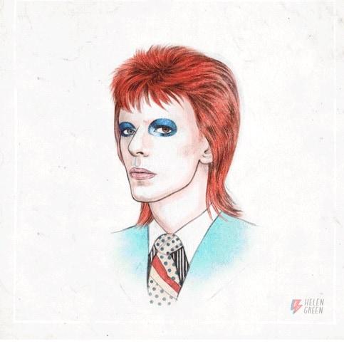 David Bowie gif