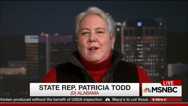 patricia todd on roy moore