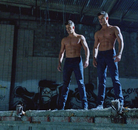 Charlie and Max Carver on Teen Wolf