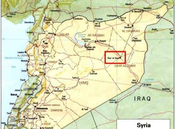 Syria Deir ez-Zor Isis has executed