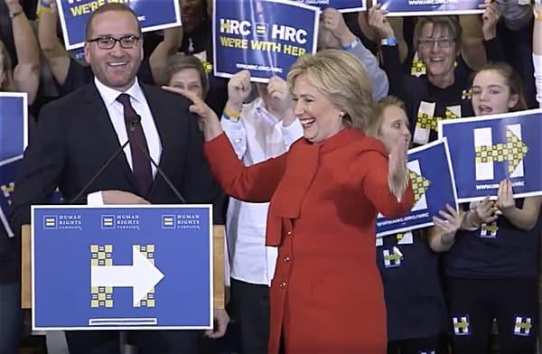 Chad Griffin Hillary Clinton