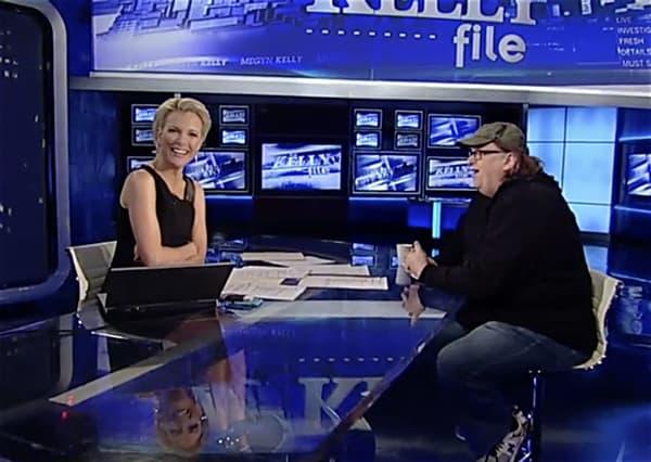 Michael Moore Megyn Kelly