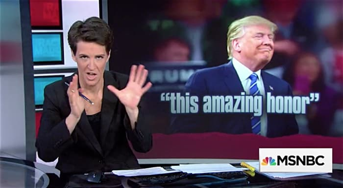 Rachel Maddow on Trump