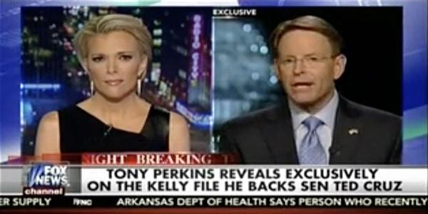 Tony Perkins endorses Ted Cruz