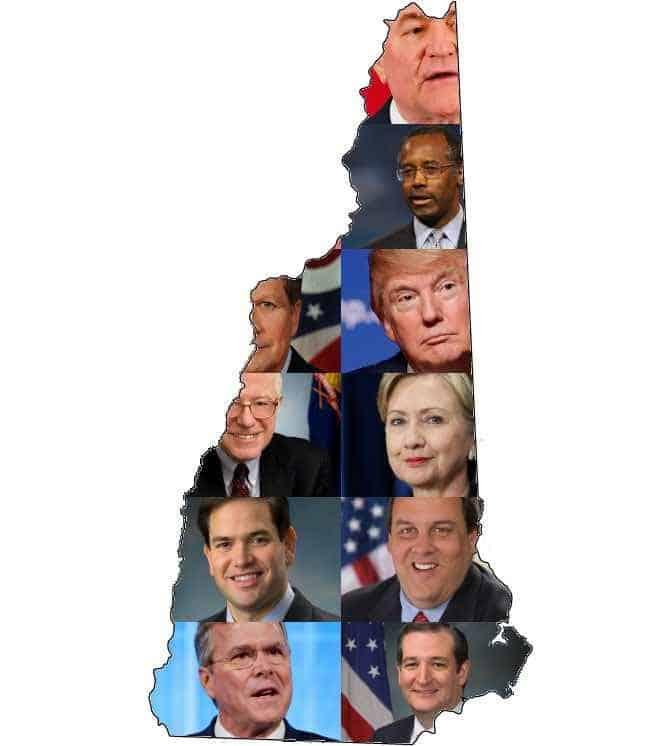 2016 New Hampshire Primary Results - Towleroad
