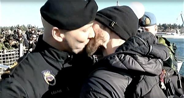 Canadian Navy gay