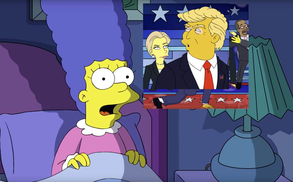 Marge Simpson election