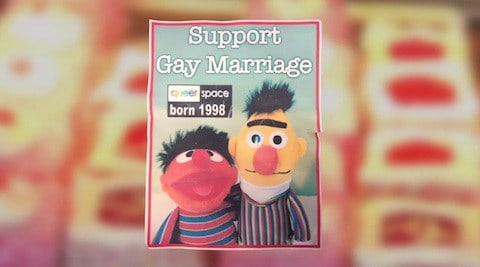 Support gay marriage cake
