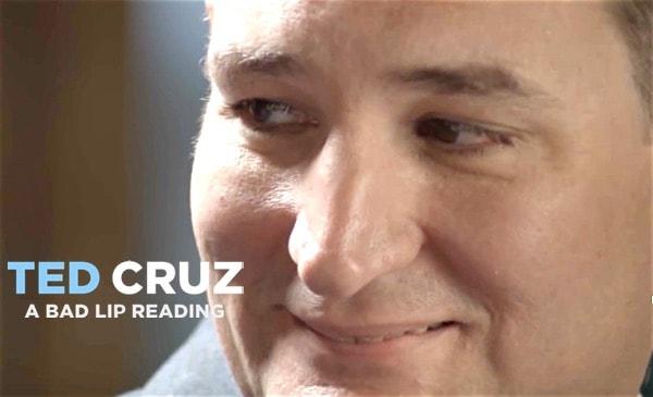 Ted Cruz bad lip reading