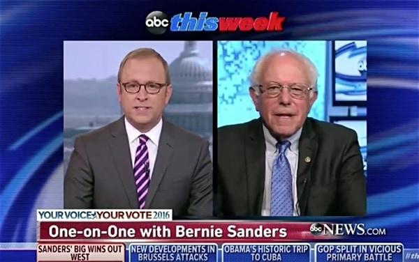 Bernie Sanders jonathan Karl