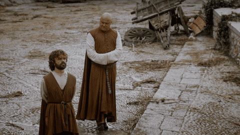Game of Thrones Tyrion and Varys