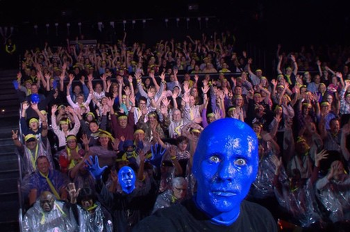 will blue man group bathroom song electric screwdriver, reattach