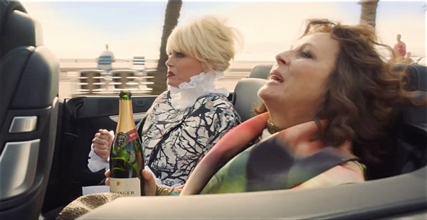 Absolutely Fabulous The Movie trailer
