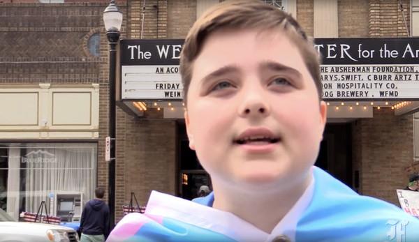James Van Kuilenburg Ted Cruz transgender teen