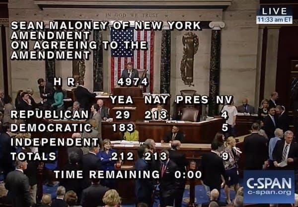 Sean Patrick Maloney amendment
